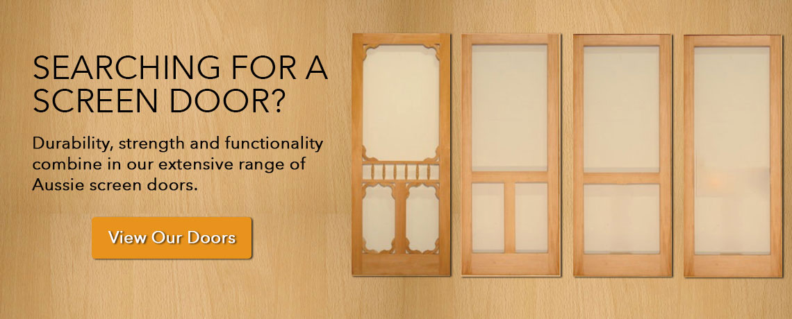 & Wooden Screen Doors | Wooden Screen Doors Melbourne